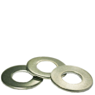 M20, Flat Washers Narrow Stainless A2 18-8, 10 ct