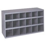 18 Compartment Parts Cabinet